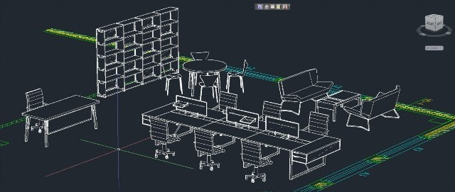 Office furniture drawings Specification