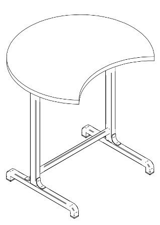 Adjustable school desk Kitman Thulema