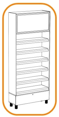 NON-STANDARD STORE SHELVING SYSTEMS