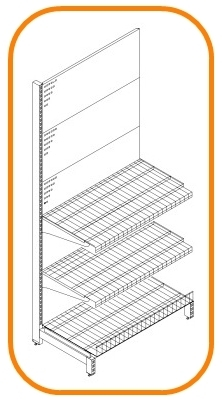 Store shelving systems